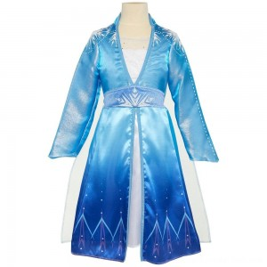 Black Friday Sale Disney Frozen 2 Elsa Travel Dress, Size: Small, MultiColored