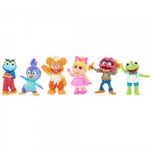 Disney Junior Muppet Babies Playroom Figure Set - SALE