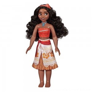 Black Friday Sale Disney Princess Royal Moana Shimmer Doll