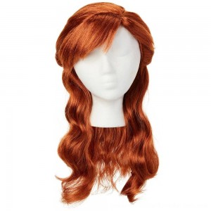 Disney Frozen 2 Anna Wig, Red - SALE