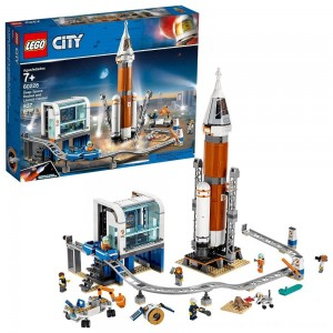 Black Friday Sale LEGO City Space Deep Space Rocket and Launch Control 60228 Model Rocket Building Kit with Minifigures