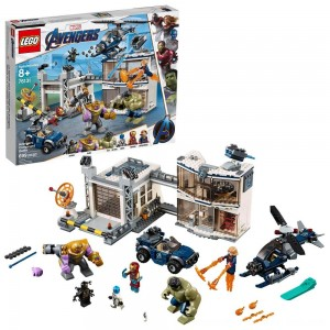 Black Friday Sale LEGO Marvel Avengers Compound Battle Collectibles Building Set with Superhero Minifigures 76131