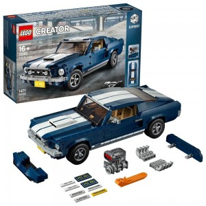 Black Friday Sale LEGO Creator Expert Vehicles Ford Mustang 10265