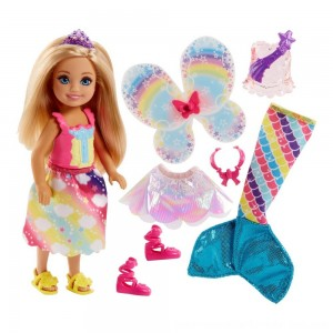 Black Friday Sale Barbie Dreamtopia Chelsea Doll and Fashions