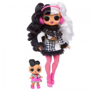 Black Friday Sale L.O.L. Surprise! O.M.G. Winter Disco Dollie Fashion Doll & Sister