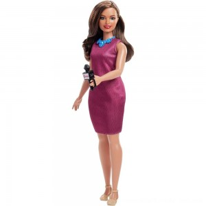 Barbie Careers 60th Anniversary News Anchor Doll - SALE