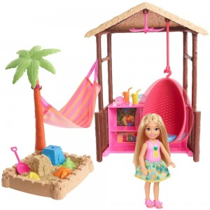 Black Friday Sale Barbie Chelsea Tiki Hut Playset
