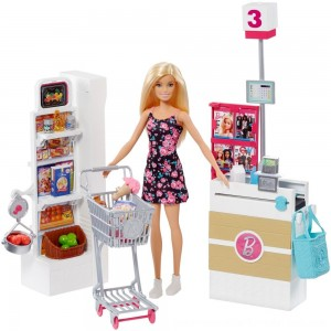 Black Friday Sale Barbie Supermarket Playset