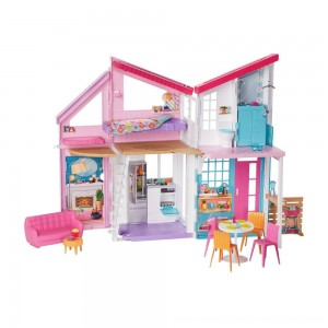 Black Friday Sale Barbie Malibu House Doll Playset