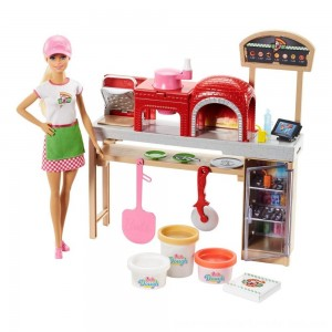 Black Friday Sale Barbie Careers Pizza Chef Doll and Playset