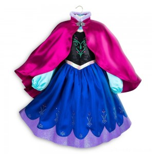 Black Friday Sale Disney Frozen 2 Anna Kids' Dress - Size 3 - Disney store, Girl's, Blue