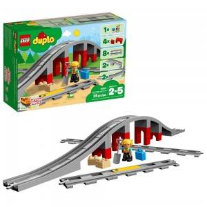 Black Friday Sale LEGO DUPLO Town Train Bridge and Tracks 10872