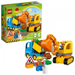 Black Friday Sale LEGO DUPLO Truck & Tracked Excavator 10812