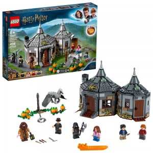 Black Friday Sale LEGO Harry Potter Hagrid's Hut: Buckbeak's Rescue Building Set with Hippogriff Figure 75947