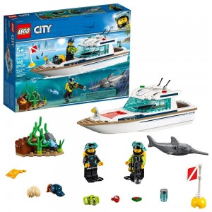 Black Friday Sale LEGO City Diving Yacht 60221