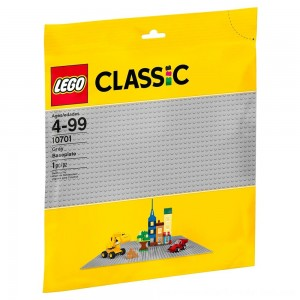Black Friday Sale LEGO Classic Gray Baseplate 10701