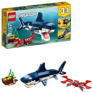 LEGO Creator Deep Sea Creatures Building Kit Sea Animal Toys for Kids 31088 - SALE