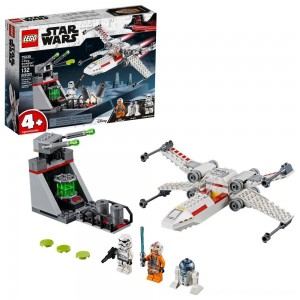 Black Friday Sale LEGO Star Wars X-Wing Starfighter Trench Run 75235